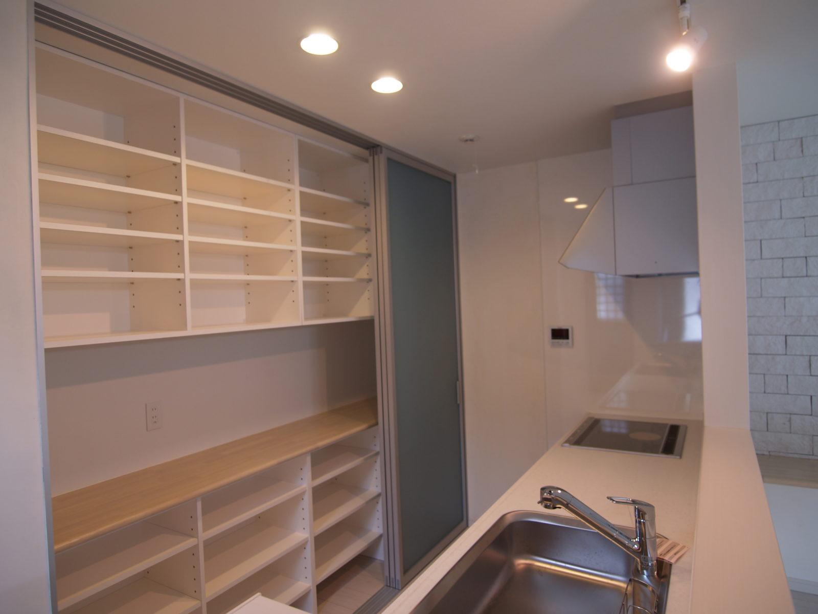 キッチン収納棚リフォーム